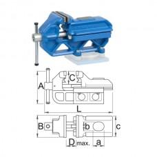 Menghina de banc tip IRONGATOR UNIOR 190mm 721/6