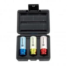 Set chei tubulare de impact lungi pentru genti de aliaj RODCRAFT RS413WP 1/2 inch - 3 piese