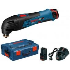 Taietor vibratii Bosch GOP 10,8 V-LI Multi-Cutter L-Boxx