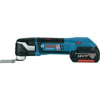Taietor vibratii cu acumulator Bosch GOP 18 V-EC Multi-cutter 2 x 4,0 Ah L-Boxx